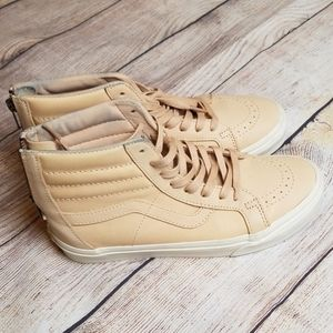 Vans Leather Veggie Tan Sneakers